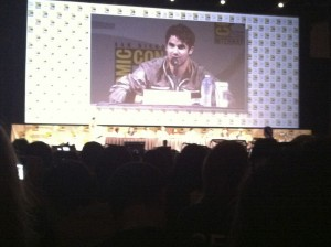 Glee Panel at SDCC